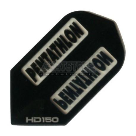 Alette per freccette PenTathlon Slim HD150 - Nere Pentathlon