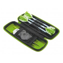 Astuccio per freccette Harrows Blaze - Verde Harrows Darts