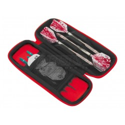 Astuccio per freccette Harrows Blaze - Rosso Harrows Darts
