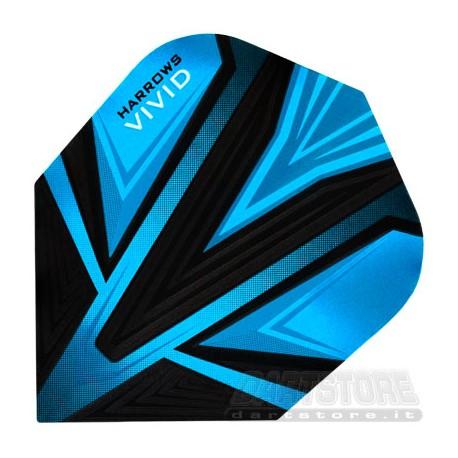 Alette per freccette Vivid - Azzurre Harrows Darts