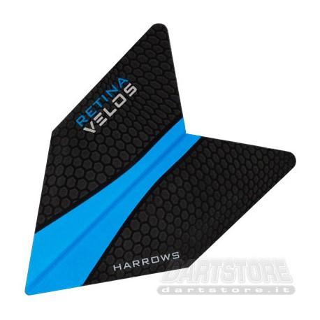 Alette per freccette Retina Velos - Azzurre Harrows Darts