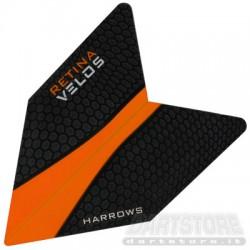 Alette per freccette Retina Velos - Arancio Harrows Darts