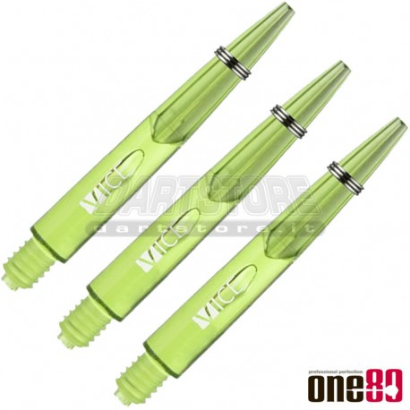 Astine per freccette Nylon Vice - MIDI - Verdi One80 Darts