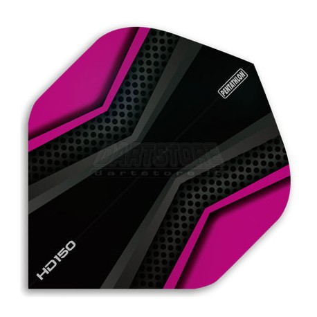 Alette per freccette PenTathlon HD150 - Nere/Rosa Pentathlon
