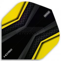 Alette per freccette PenTathlon HD150 - Nere/Gialle Pentathlon