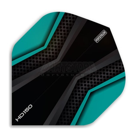 Alette per freccette PenTathlon HD150 - Nere/Aqua Pentathlon