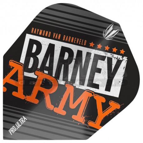 Alette per freccette Target Vision Ultra - Barney Army nere Target Darts