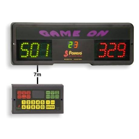Segnapunti elettronico per freccette Game ON con controllo remoto