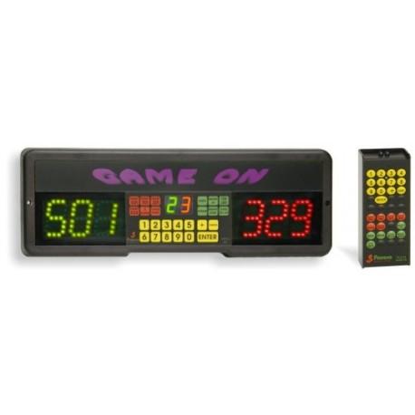 Segnapunti elettronico per freccette Game ON con telecomando