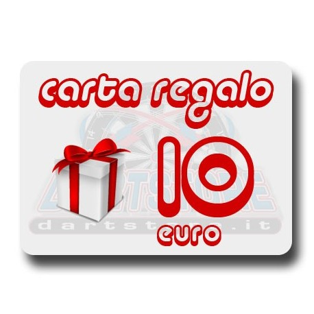 Carta Regalo €10 DartStore.it