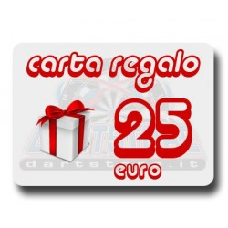Carta Regalo €25 DartStore.it