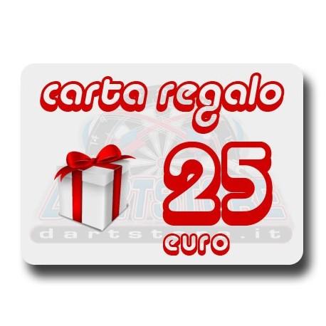 Carta Regalo €25 DartStore.it