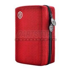 Borsa per freccette Double D-Box - rosso One80 Darts