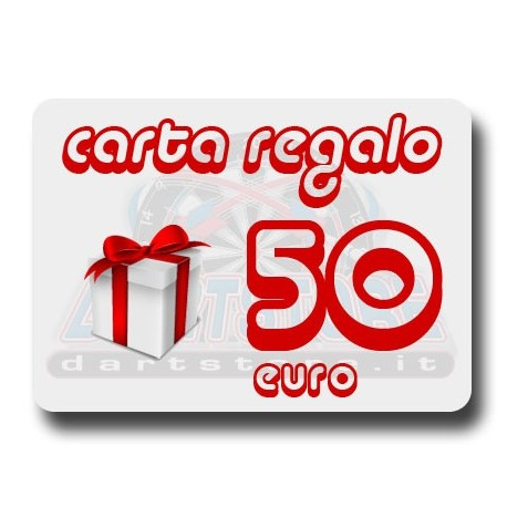 Carta Regalo €50 DartStore.it