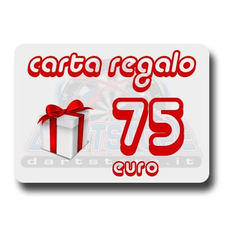 Carta Regalo €75 DartStore.it