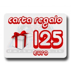 Carta Regalo €125 DartStore.it