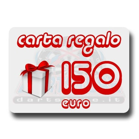 Carta Regalo €150 DartStore.it