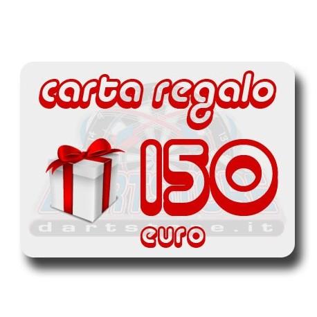 Carta Regalo €150 DartStore.it