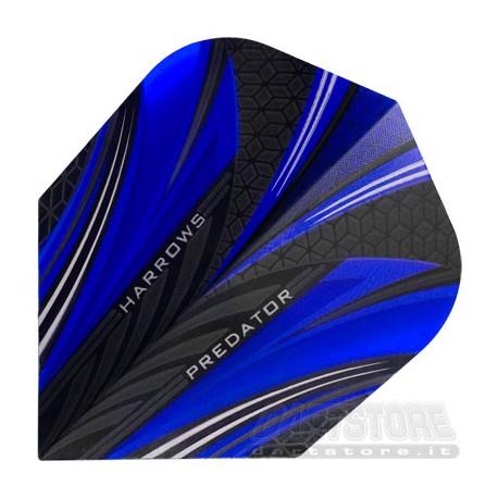 Alette per freccette Predator - Blu Harrows Darts