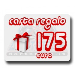 Carta Regalo €175 DartStore.it