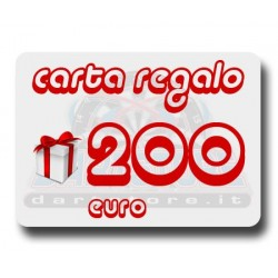 Carta Regalo €200 DartStore.it