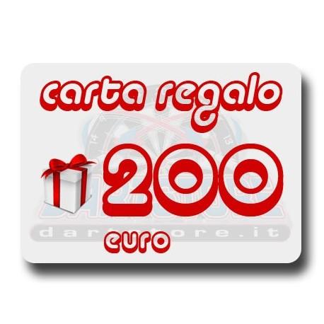 Carta Regalo €200 DartStore.it