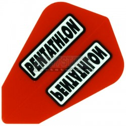 Alette per freccette PenTathlon Lantern - Rosse Pentathlon