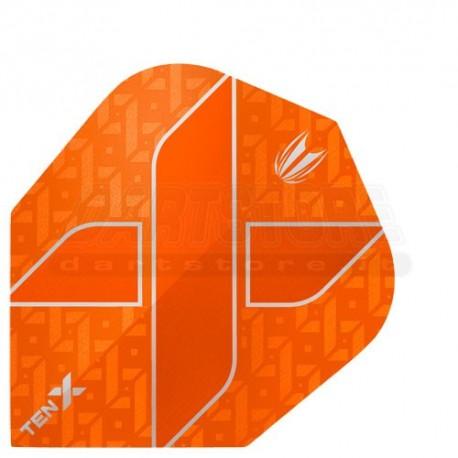 Alette per freccette Target Vision Ultra Ten-X - Arancio Target Darts