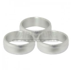 Accessori per alette freccette Supergrip Rings Alluminio - Argento DartStore.it