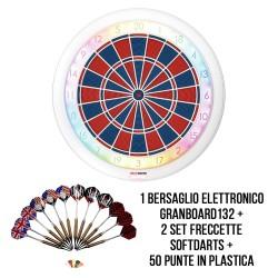 Kit Let's Play SoftDarts - GranBoard132 DartStore.it freccette soft darts