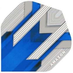 Alette per freccette Amazon Silver - Blu Pentathlon