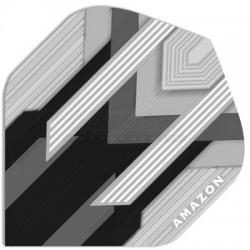 Alette per freccette Amazon Silver - Nere Pentathlon