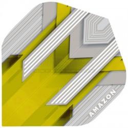 Alette per freccette Amazon Silver - Gialle Pentathlon