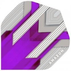 Alette per freccette Amazon Silver - Viola Pentathlon