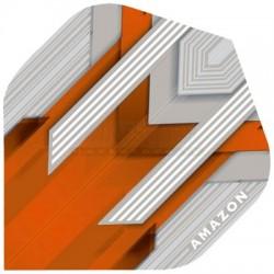 Alette per freccette Amazon Silver - Arancio Pentathlon