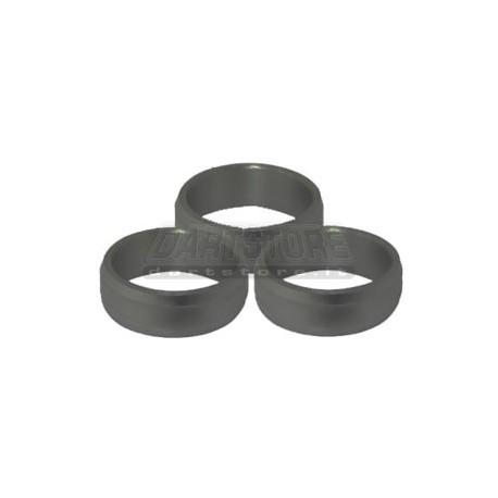 Slot Lock Rings Alluminio - Neri