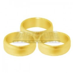 Accessori per alette freccette Supergrip Rings Alluminio - Oro DartStore.it