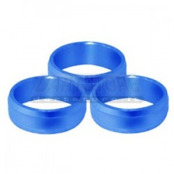 Slot Lock Rings Alluminio - Blu