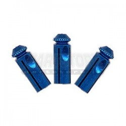 Accessori per alette freccette Flight protectors Alluminio - Blu DartStore.it