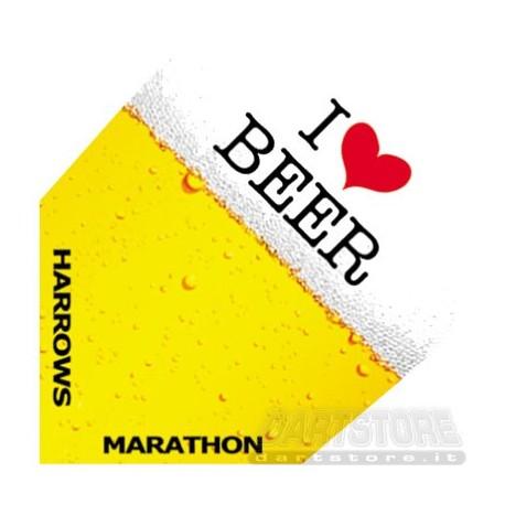 Alette per freccette Marathon - Birra Harrows Darts