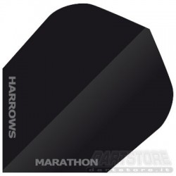 Alette per freccette Marathon - Nere Harrows Darts