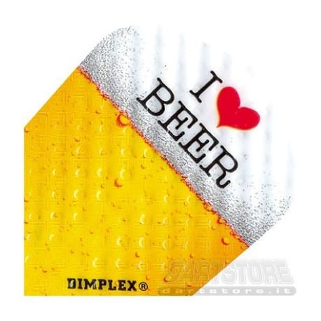 Alette per freccette Dimplex - Birra Harrows Darts