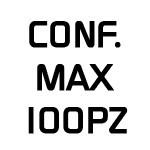 Conf. max 100 pz.