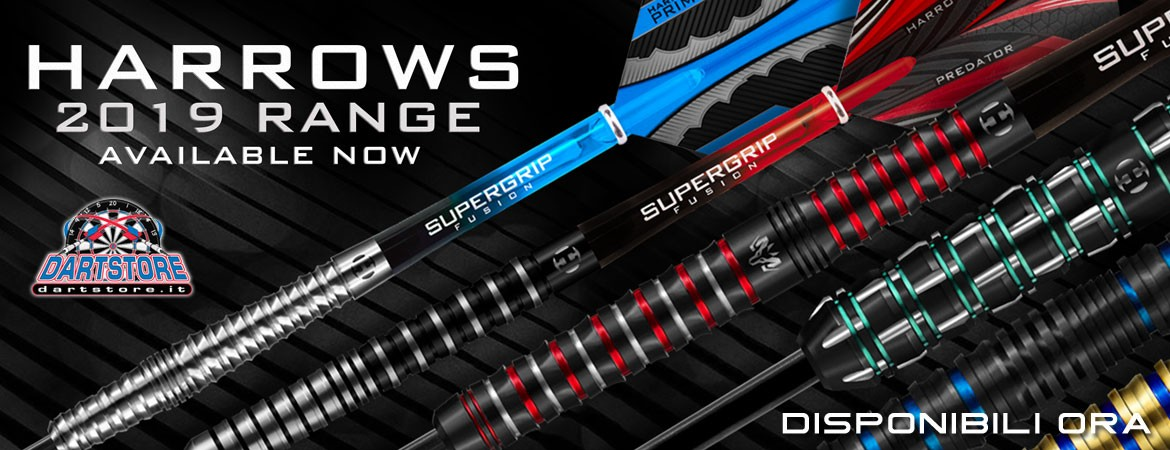 Nuove Freccette Harrows Darts